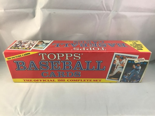 1988 Topps Baseball Card Set Factory Sealed