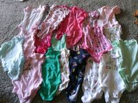 baby's assorted-color onesie lot Silver Spring, 20904