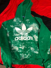 Green and white adidas pullover hoodie Richmond Hill, L4S 0A1