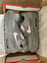 Air Max 90 Dust/Arctic Pink sz 12 Silver Spring, 20910
