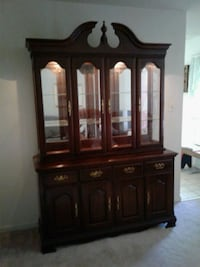 brown wooden china buffet hutch Catonsville, 21228