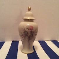 Porcelain 'western germany' vase/ginger jar