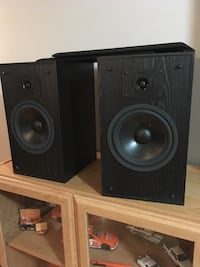 90 watts speakers . Like new condition!! Wall /floor design.PSL-52Bb  ACOUSTIC PROFILES,  Brampton, L6S 2Z5