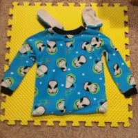 2 Just One You Made by Carter's 5T Boys Footed Pjs Westminster, 80031