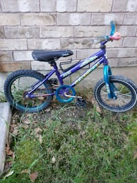 toddler's blue and green bicycle Vaughan, L4K