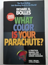 What colour is your parachute? book