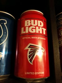 Atlanta Falcons NFL Collectible Can