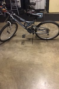 "Huffy 18 speed trail runner 24"" mountain bike"