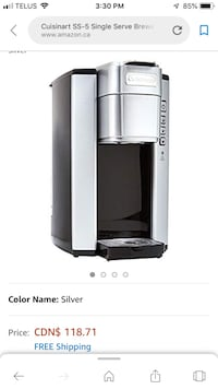 Single serve coffee maker Edmonton, T6E