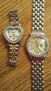 WATCHES/BOTH FOR $10.00 Charleroi, 15022