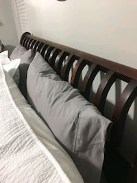 Mahogany queen size bed frame and bed Palmetto Bay, 33157