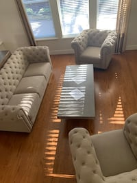 $750 Living room set with coffee table