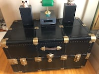 Large Vintage Trunk Treasure Chest