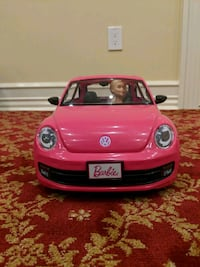 Barbie VW Beetle Car & Doll Set Warren, 07059