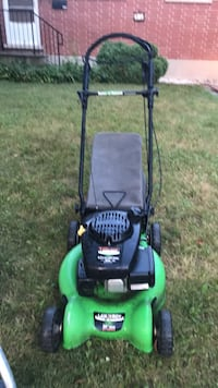 green and black push mower Guelph, N1G 2X6