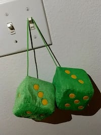 two green dice plush toys New Orleans, 70113