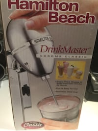 NEW - Hamilton Beach blender - DrinkMaster Chrome Classic 730c Richmond Hill, L4B 3J7