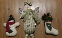Plush hanging Christmas decorations Surrey, V3W 6B4