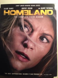 Homeland season five Blu ray  Toronto, M8Y 1G4