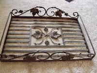 Metal Decorative Tray