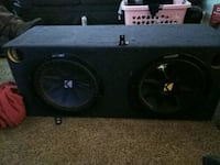 Two kicker 12s with box Bakersfield, 93308