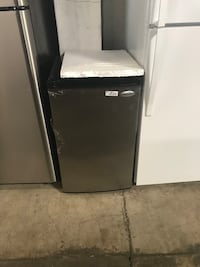 black and gray compact refrigerator Farmers Branch, 75234