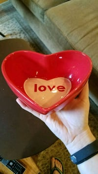 Valentine candy dish -- perfect gift!