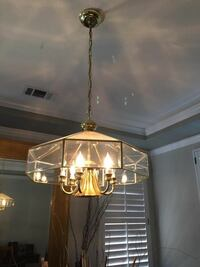 gold up light chandelier Vallejo, 94591