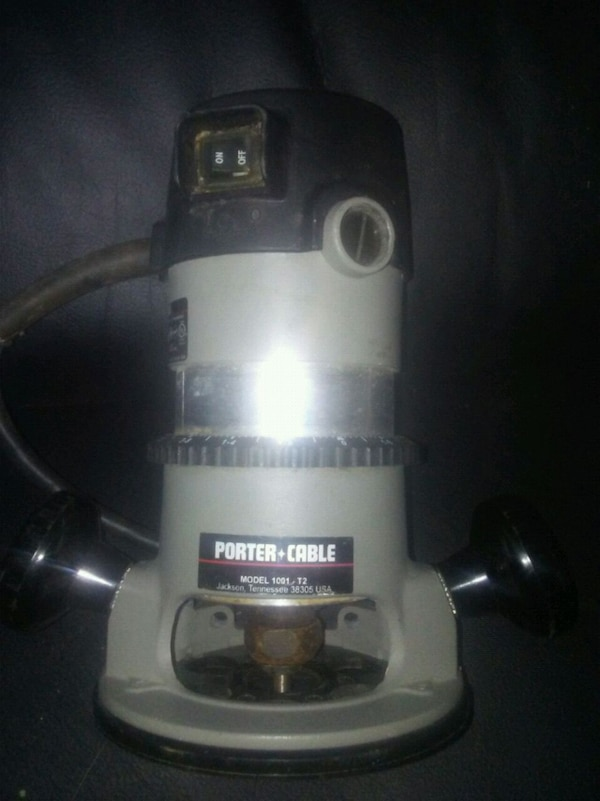 Porter Cable router - Model 1001 - T2