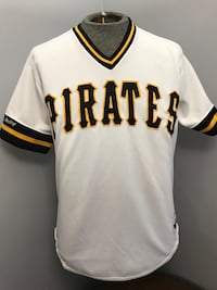 Authentic 80s Rawlings Pittsburgh Pirates Pullover Baseball Jersey