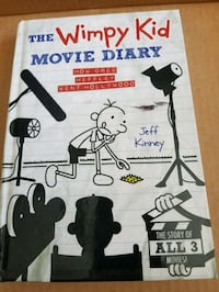 THE Wimpy Kid MOVIE DIARY/Hard Cover Copy Milwaukee, 53219