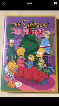 The Simpsons Christmas 2 DVD Video Disc NTSC 2004 Fox 20th Century London, N6G 2Y8