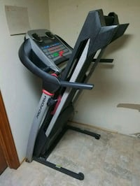 black and gray automatic treadmill Allentown, 18103
