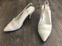 white shoes; open back; size 5 Palmdale
