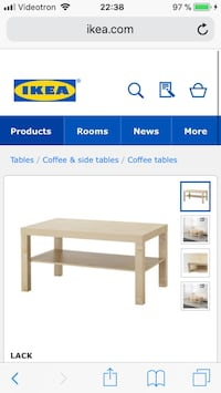 rectangular beige wooden table screenshot