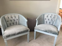 Two Accents chairs $90 for both 463 km