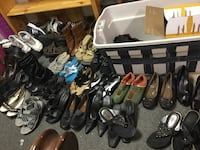 assorted pairs of shoes and sandals