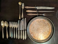 Silver Platter and Utensils Vancouver, V6G 2C9