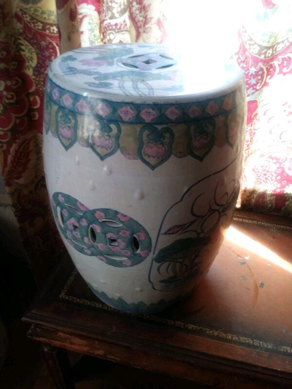 antique Chinese Garden Stools 250 for both OBO 5ee902a8-3f77-4a47-b95a-6982f6493371
