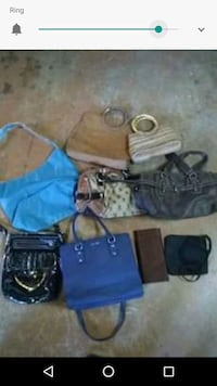 Lot of purse's