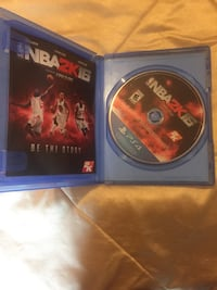 NBA 2K16 PS4 game case Silver Spring, 20904