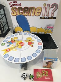 The Simpsons SCENE IT Board Game (No DVD)