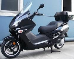 2012 250cc scooter
