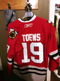 Toews professional jersery with straps Joliet, 60431