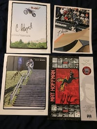 Autographed posters/picture