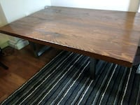 Coffee Table aged solid Hemlock planks Toronto, M5R