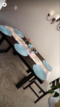 Farmhouse style table with 4 chairs and bench  Apple Valley, 55124