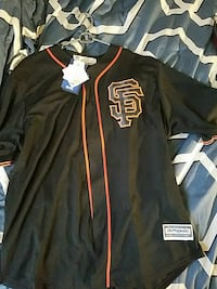 MAJESTIC SF BUSTER POSEY JERSEY 2XL