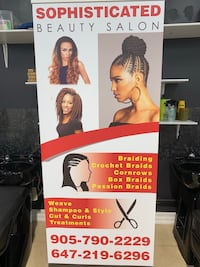 Sophisticated beauty salon  [TL_HIDDEN]  all new clients get 20% off Brampton
