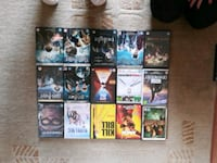 assorted DVD movie case lot Derbyshire, S40 2UR